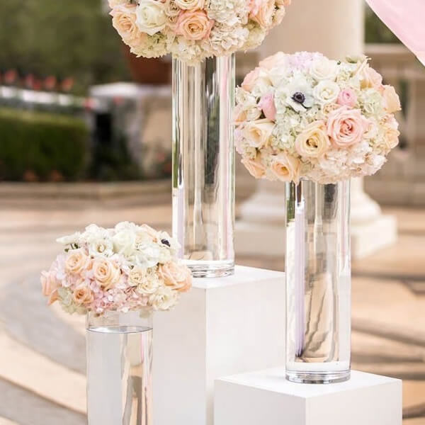 Decorative Tall Glass Vases