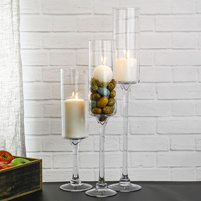 Long Stem Candle Holders
