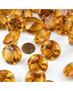 acrylic diamonds-amber