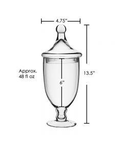 Glass-Apothecary-candy-buffet-jars-gaj112