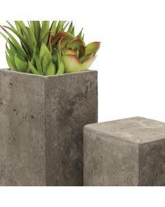 concrete cement pot planters