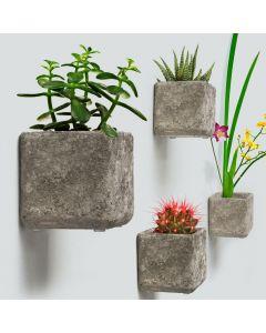 hanging concrete planters