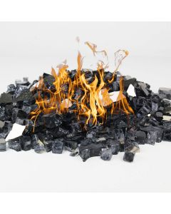 dark-gray-reflective-fireglass