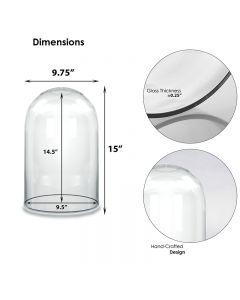 glass dome cloches