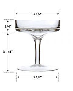 glass pedestal candle holder with stem