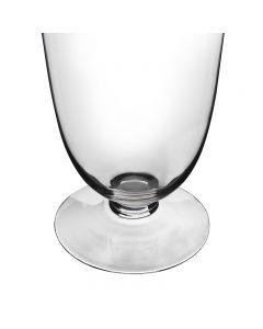 Glass Trumpet Vase Wedding Centerpiece