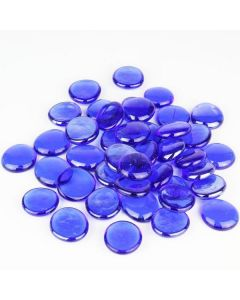 glass flat gemstones