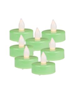 LED Tealight Candles-Green-3