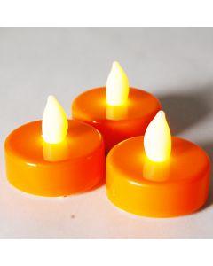 LED Tealight Candles-Orange-1