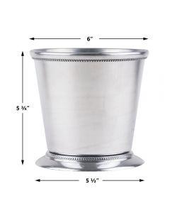 mint julep cup Kentucky derby metal cup