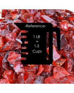 red fire glass