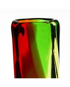 christmas-red-green-vase