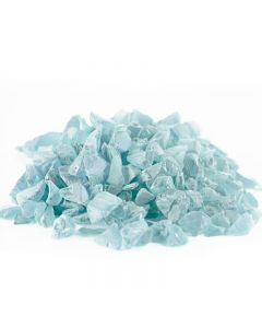 Vase Filler Sea Glass Frost Light Blue