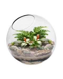slant cut bubble bowl