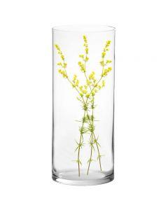 """Glass Cylinder Vase. H-24"""", D-10"""" Wedding Centerpiece"""