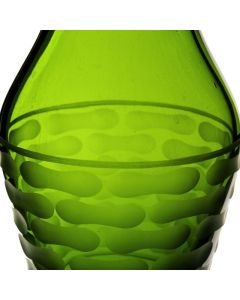 olive green vase