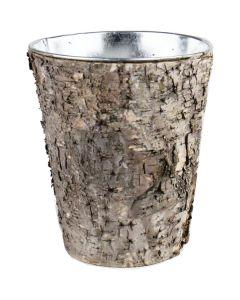 zinc-cylinder-with-birch-wood-wrap-taper-down-ZBCY060407