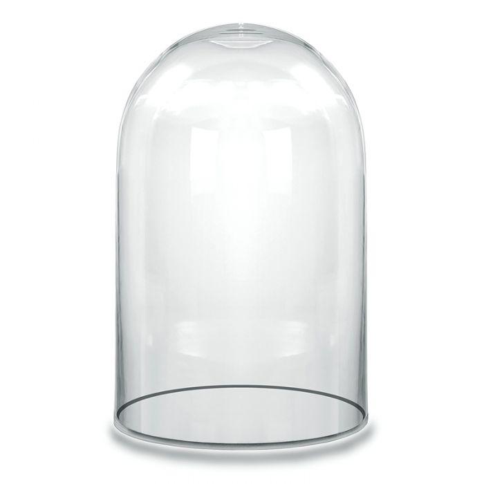 Glass Dome Cloche Bell Jar Terrarium, H-10