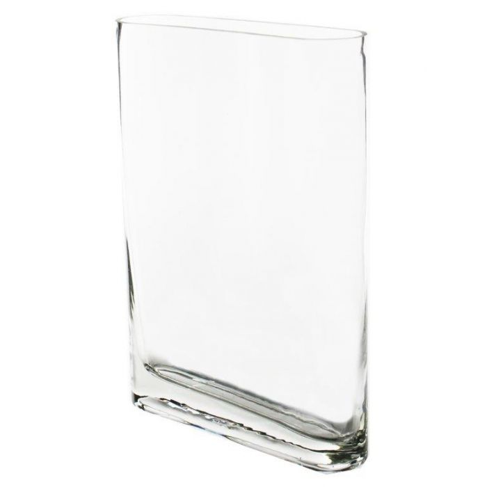 slim rectangular glass vase