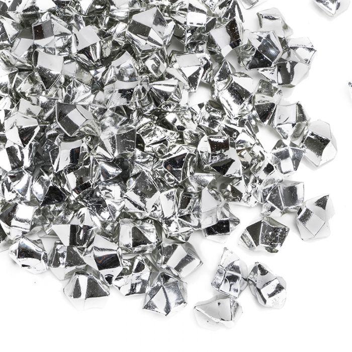 Silver Acrylic Rocks