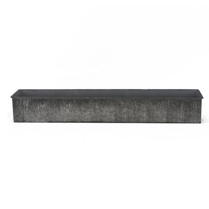 rectangle metal planters