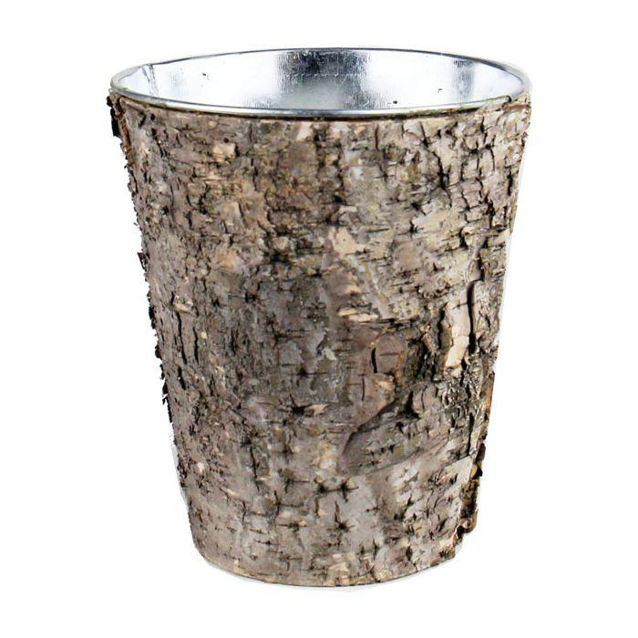 Cylinder Birch Vases H-7